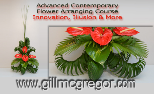 #advancecontemporaryflowerarrangingcourse