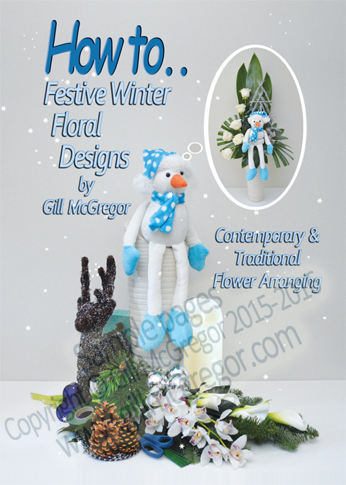 Flower Arranging Books 'Festive Winter Floral Designs' - by Gill McGregor