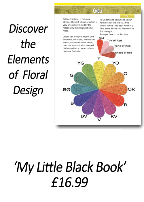 Beginners Flower Arranging Books 'How to Apply the Elements and Principles of Floral Design' - by Gill McGregor