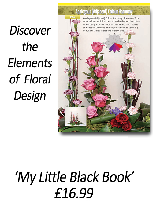 Flower Arranging Books for beginners'How to Apply the Elements and Principles of Floral Design' - by Gill McGregor