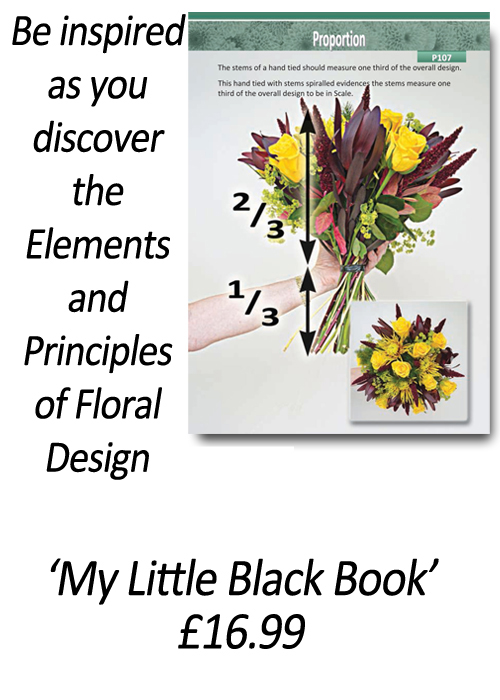 Floristry Books - How to design with flowers - 'How to Apply the Elements and Principles of Floral Design' - by Gill McGregor