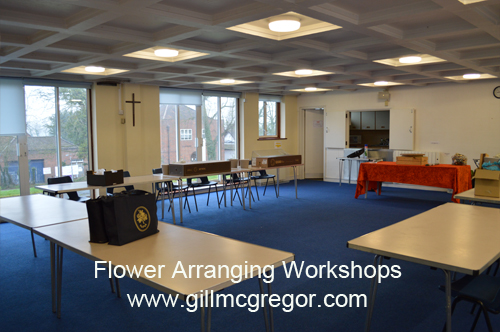 Flower Arranging Workshops by Gill McGregor
