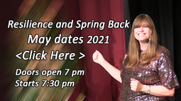 Tickets for Resilience and Spring Back - May